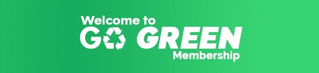 Go Green Membership Option